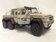 Jurassic World Mercedes Benz AMG G63 Car, Die Cast 1:24 By Jada Toys