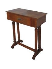 Tavolino da lavoro in noce  - mobiletto - comodino - fine 800