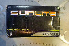 Sunlite Moped Scooter Surrey Bicycle Inner Tube 18x225/250 Schrader Valve
