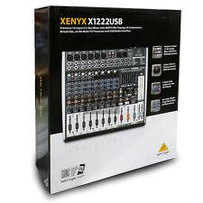 Behringer X1222USB 736211583048 Analog Mixer 24-Bit Multi-FX Processor 110-240V