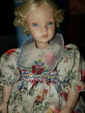 "Pauline Bjonness Jacobsen 12"" Limited Edition Blonde Porcelain Doll 349 /950"