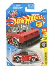 Hot Wheels 2021 HW Experimotors 10/10 Red Custom Small Block w/ Special Feature