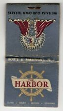The Harbor Restaurant Rt 6 Parsippany New Jersey Vintage Matchbook Cover B37