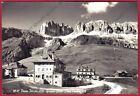TRENTO PASSO PORDOI 39 GRUPPO SELLA Cartolina FOTOGRAFICA viaggiata 1957