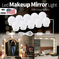 10pcs LED Makeup Mirror Lamp Vanity Mirror Bulb Dressing Table Dimmable Lights