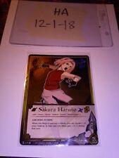 Naruto CCG Sakura Haruno [Growing Power] 419 Super Rare FOIL