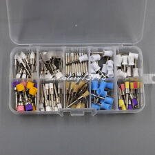 10 Mixed Type Disposable Dental Prophy Brush Cup Bowl Polishing Polisher 100 Pcs