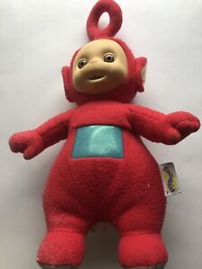 Vintage 1998 Hasbro Playskool Teletubbies Po Red Plush Talking Doll Toy WORKS