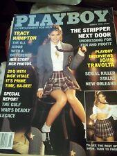 VINTAGE PLAYBOY MAGAZINE MARCH 1996 TRACY HAMPTON OJ SIMPSON JUROR