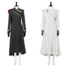 Game of Thrones Daenerys Targaryen Cosplay Costume Dragonstone Snow Dress Outfit