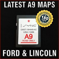 Latest 2013-2016 Lincoln MKC MKS MKT MKX MKZ Navigator A9 Navigation SD Card Map