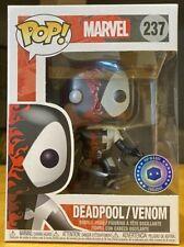 FUNKO POP! Marvel Deadpool/Venom Metallic #237 - Pop in a Box Exclusive