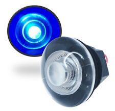 Marine Boat LED Round Blue Courtesy Light Lamp Livewell OEM Waterproof