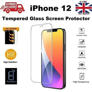 Full Edge to Edge Screen Protection REAL Tempered Glass for iPhone 12 6.1 inches