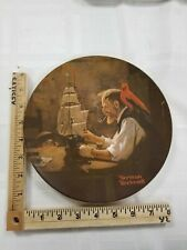 Norman Rockwell Collector Plate The Ship Builder 1980 Knowles Fine China