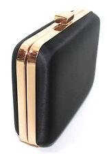 HUGO BOSS NUIT BLACK & GOLD LADIES CLUTCH BAG / HANDBAG / EVENING BAG BAG *NEW