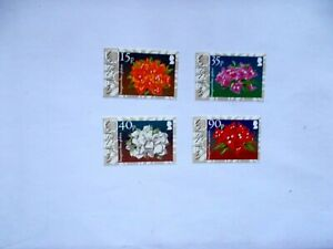 ASCENSION ISLAND  2004 Royal Horticultural Society 4 stamps U/M  Sg895/98