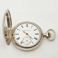 Orologio GEORGES FAVRE-JACOT Argento 875 da tasca carica manuale  133vv19