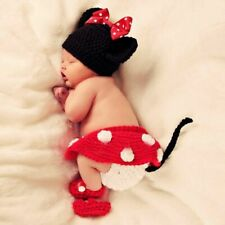 Cute Baby Photo Photography Prop Clothes For 0-6 months baby Newborn - Red