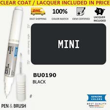 Wheelrim Bu0190 Touch Up Paint For Mini Black Black Pen Stick Scratch Chip Fi