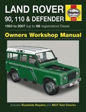 Haynes Owners Workshop Manual Land Rover 90 110 Defender 1983-2007 Diesel Repair