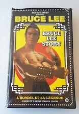 "TRES RARE K7 VIDEO VHS "" BRUCE LEE STORY "" EDITION 1985 René CHATEAU"