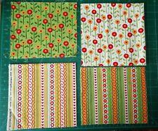 carrés Moda Tissu Joyeux commence ici Mini Charm-Patchwork Quilting 2.5 in environ 6.35 cm