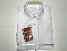 1880 Club New Boys Kids WHITE BUTTON DOWN DRESS SHIRT Sz: 7/8 RTL: $70 Q675