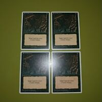 Evil Presence x4 Fourth Edition 4th 4x Playset Magic the Gathering MTG