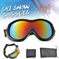 Snowboarding Snow Ski Goggles for Kids Anti-Fog Windproof for Kids Junior 6+Year