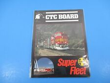 CTC Board Magazine (Railroads Illus)June 1990 Super Fleet Santa Fe M4020 & M4021