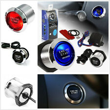 Car Engine Push Button Switch Ignition Starter Kits Red LED Universal For Holden