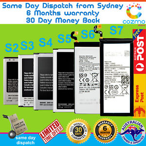 Premium Battery Replacement to Genuine Samsung Galaxy S2 S3 S4 S5 S6 S7 Edge S8