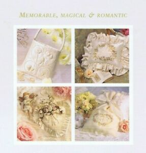 INSPIRATIONS MAGAZINE Bridal Issue NEW with Wedding Embroidery pattern sheets