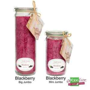 """Candle Factory  Duftwindlicht """"Pflaume"""", mit Blackberry Duft"""