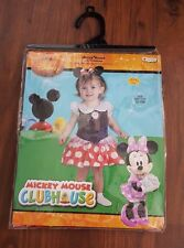 New listing Disney Girls Toddler Minnie Mouse Infant Costume Dress-Up 12-18 Months Nwt *