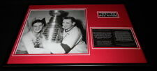 1951-52 Detroit Red Wings Team Framed 12x18 Photo Display Sawchuk / Abel