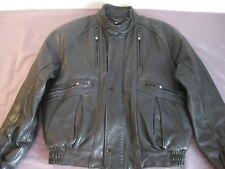 VINTAGE GENUINE HARLEY DAVIDSON VENTED LEATHER JACKET MEN'S 42 MEDIUM NICE!