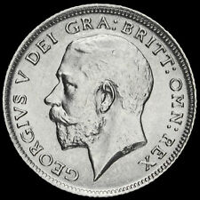 More details for 1911 george v silver sixpence, unc