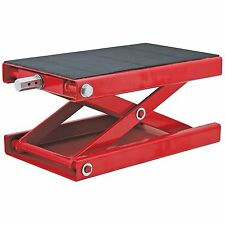 Extreme Max Wide Motorcycle Scissor Jack - 1100 lb. Without Dolly