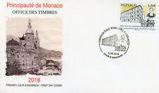 Monaco 2018 FDC Ecole des Freres School 1v Cover Architecture Education Stamps
