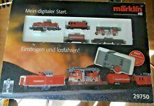 Märklin H0 29750 Feuerwehr Startset Digital mit Diesellok BR 212 geprüft in OVP