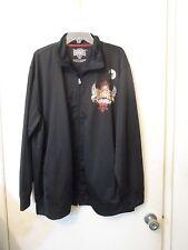 Mixed Martial Art Elite Premium Fight Gear Jacket black zipper front long sleeve