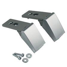 2 Stück Scharnier Türband silber Reparaturset Kühlschrank wie Liebherr 9590178