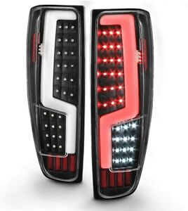 For 2004-2012 Chevy Colorado GMC Canyon LED Light Tube Tail Lights Brake Lamps