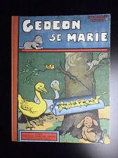 RABIER Gédéon se marie Ed Garnier Frères Réed 1950 BE +
