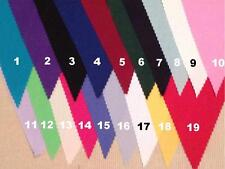 Fabric Bunting Wedding party Decoration multiple colours with White 2 mt or more