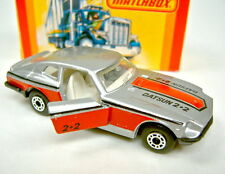 Matchbox SF Nr. 67C Datsun 260Z silbermetallic top in USA Box