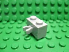 Lego NEW light gray 1x2 modified w/ side clips  X 10