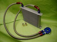 Burstflow Universal Nachrüstsatz Kit Ölkühler 30 Reihen AN08 passend für VW BMW